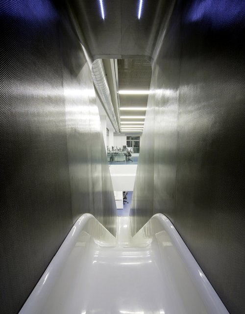 Trans-Floor Slide @ Red Bull Office